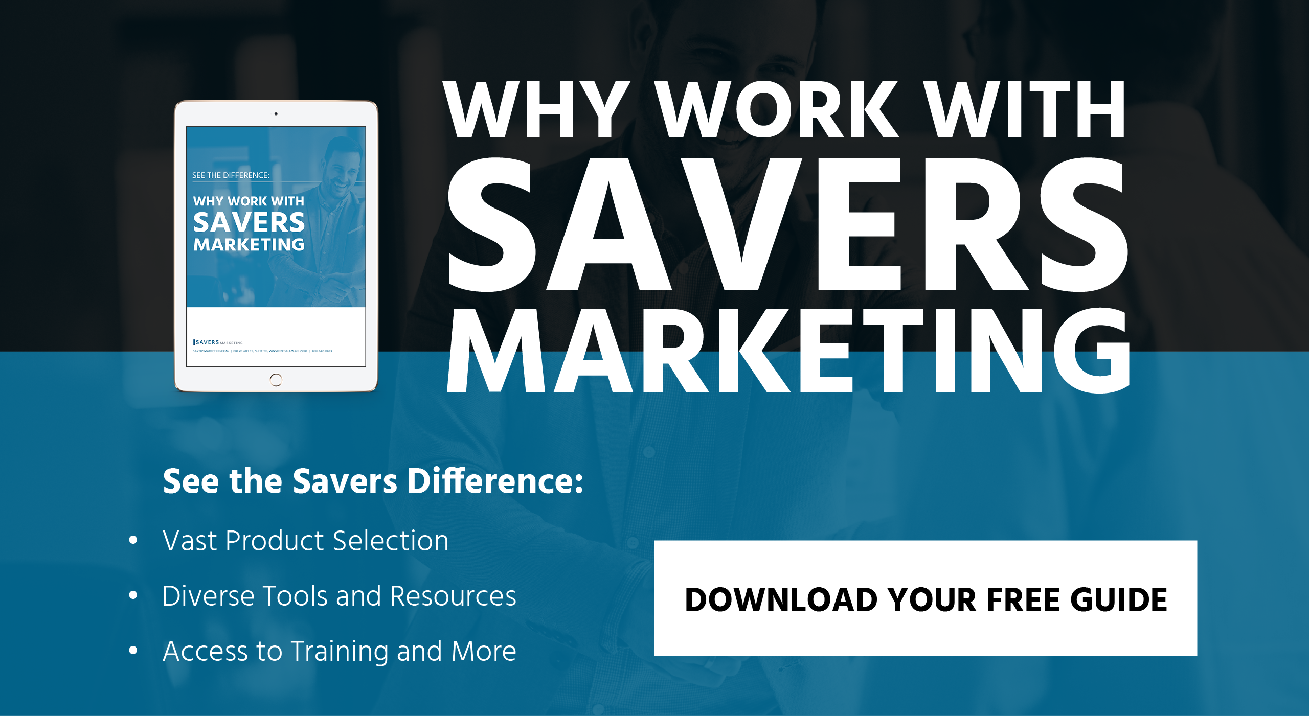 Why Work With Savers Marketing